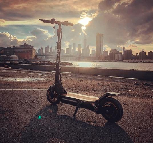 elscooter utan sadel