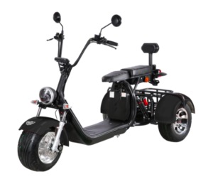 trehjulig elscooter